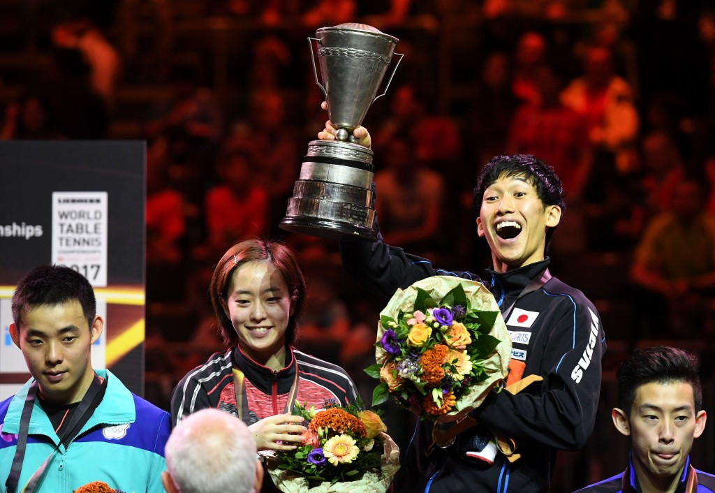 Japanese duo target home Olympic gold after mixed doubles world title