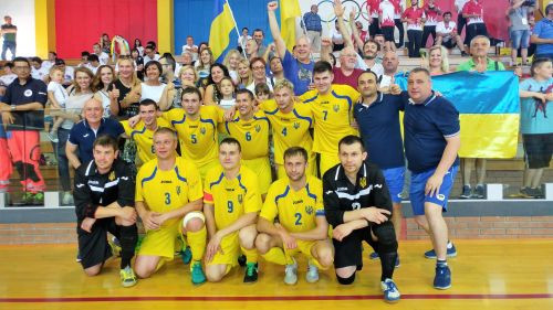 Ukraine defend IBSA Partially Sighted Football World Championships title