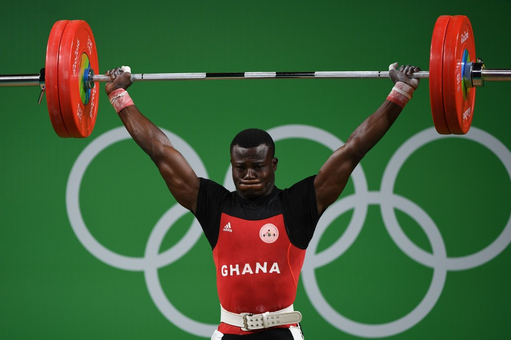 Christian Amoah went from a deprived background to the Rio 2016 Olympic Games ©Getty Images