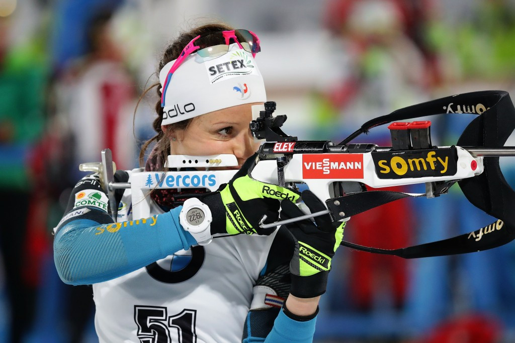 French biathlete Chevalier breaks collarbone after car knocks her from bike