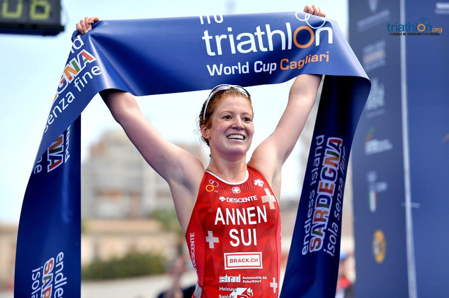 Switzerland sweep men's and women's titles at ITU World Cup in Cagliari