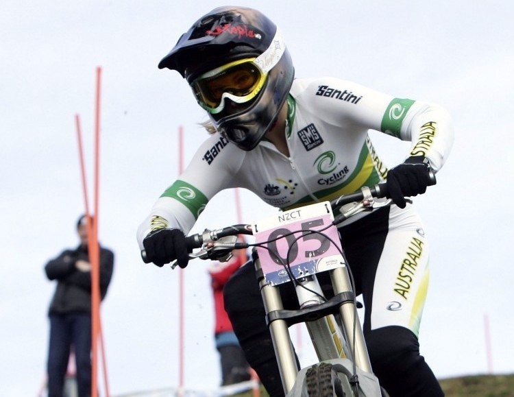 Tracey Hannah was a comfortable winner today at the Fort William leg of the World Cup ©Getty Images