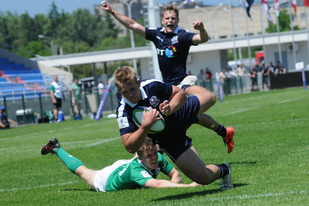 Ireland suffer second consecutive defeat at World Rugby Under-20 Championship