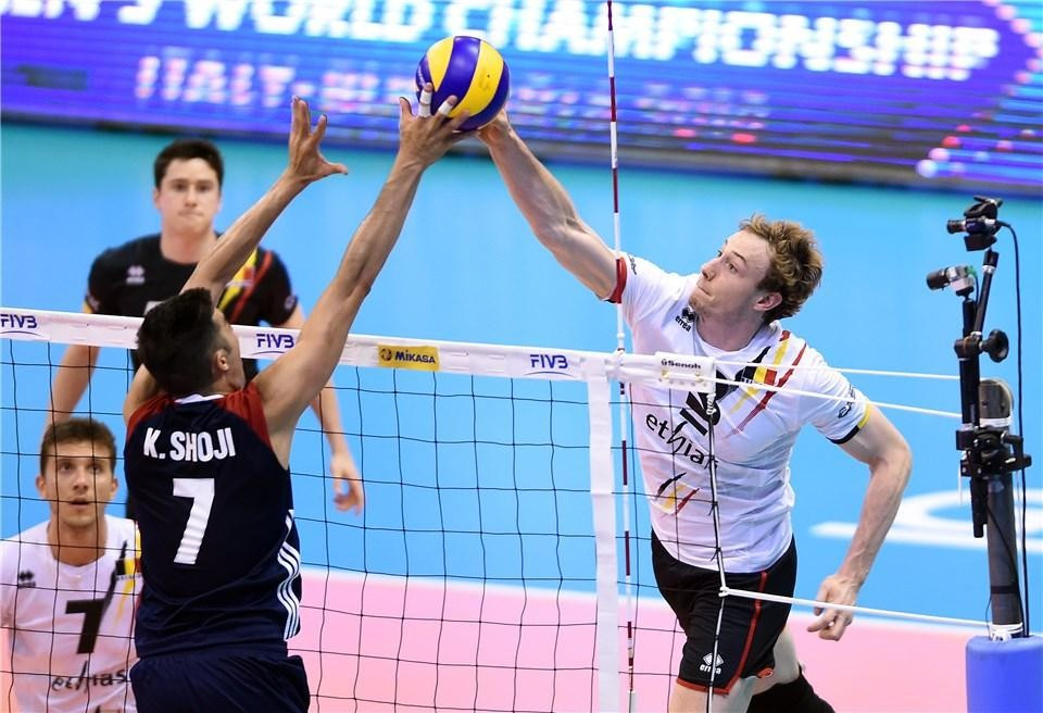 Belgium claim impressive win over OIympic bronze medallists at FIVB World League