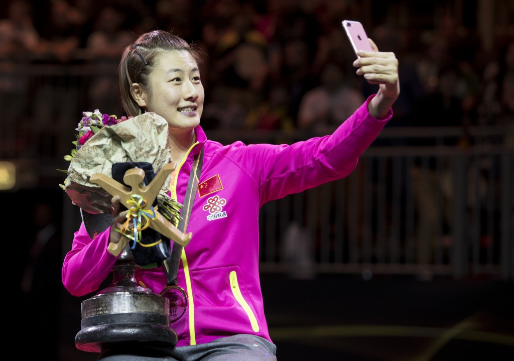 China dominate as Ding wins third world women's table tennis singles title