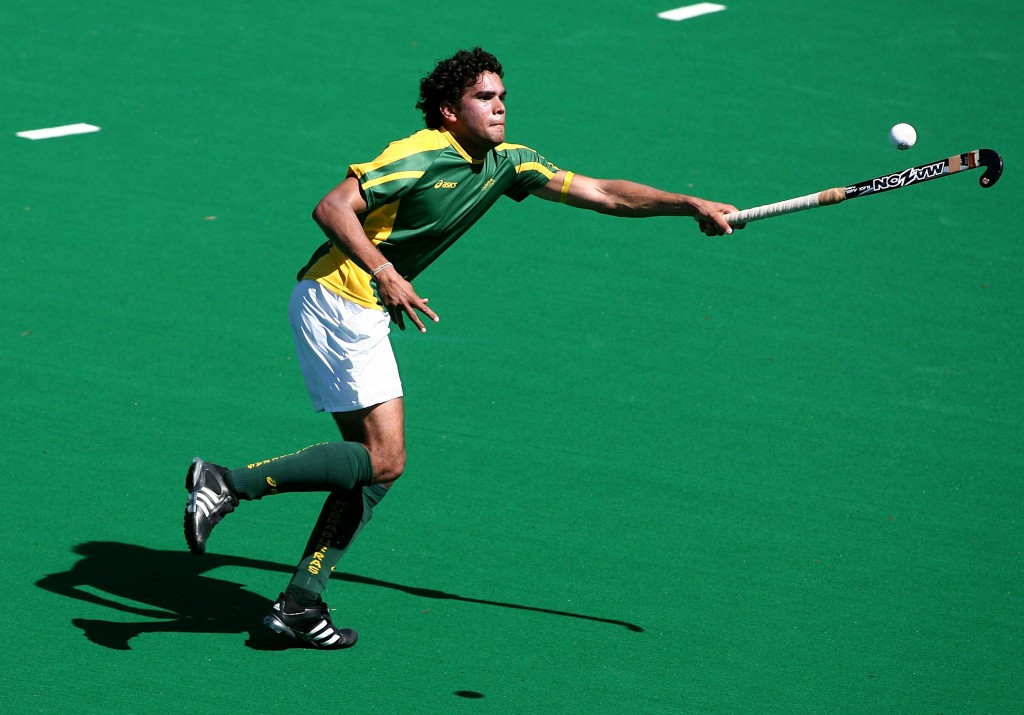 Beijing 2008 hockey bronze medallist Des Abbott was one of those representing the Australian Olympic Committee in the Deadly Fun Run Championships
