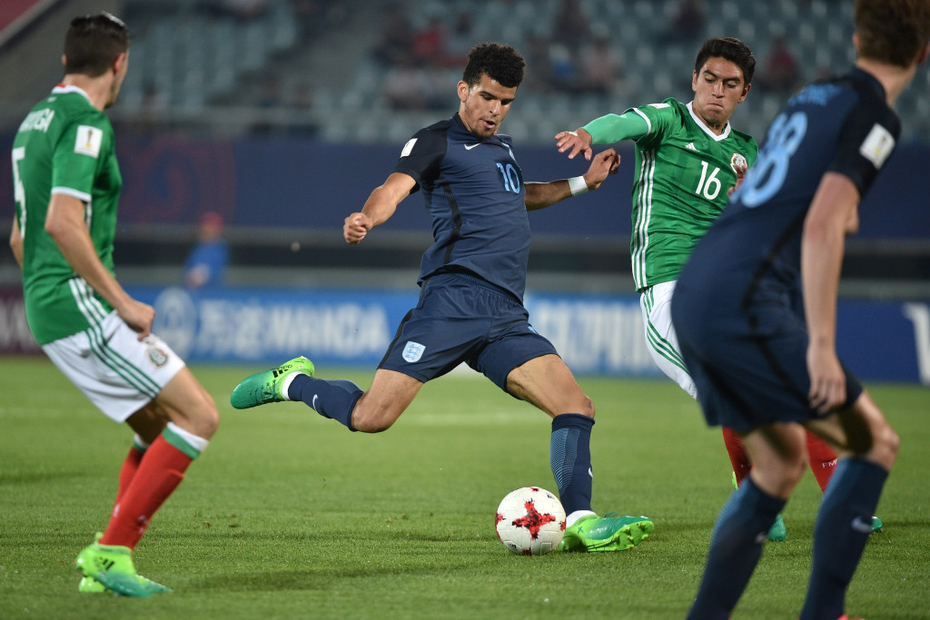 Dominic Solanke scored the winner for England as they beat Mexico 1-0 ©Getty Images