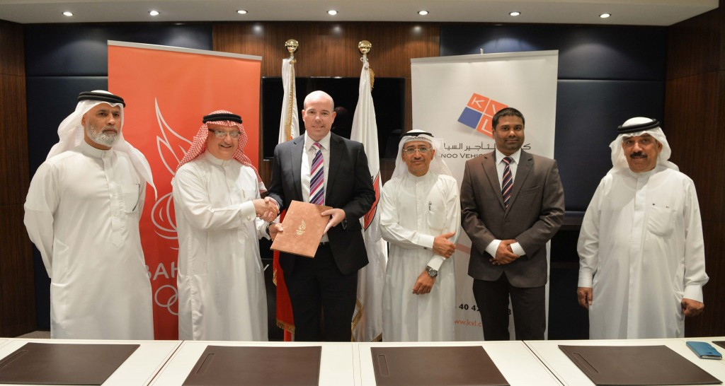 Bahrain Olympic Committee extends car hiring deal with Kanoo Vehicle Leasing