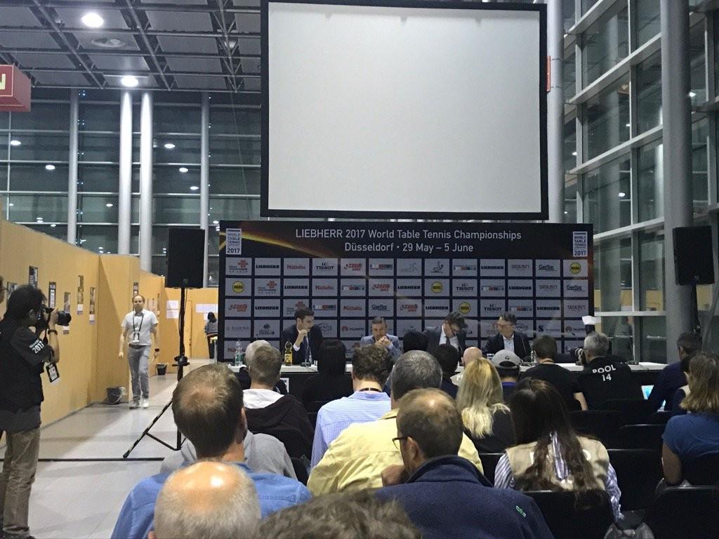Weikert criticises Merkel's Government for not attending ITTF World Championships