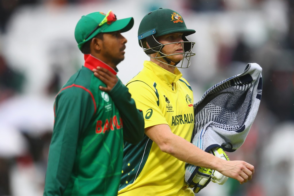 Rain ends Australian victory hopes again in ICC Champions Trophy