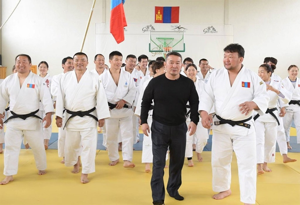Mongolian Judo Association President looking to become country's leader