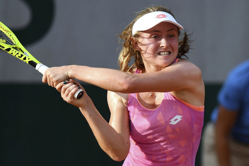 Sasnovich and Görges win Fed Cup Heart Awards