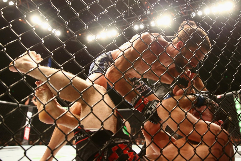Mixed martial arts is growing in popularity ©Getty Images