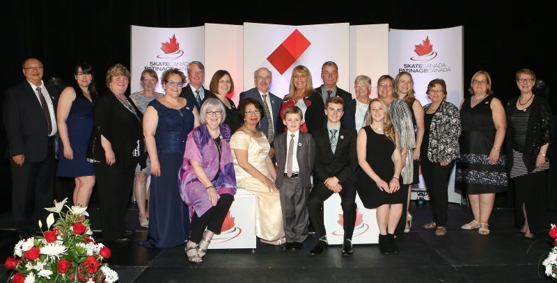 Skate Canada stage annual Achievement Awards Gala