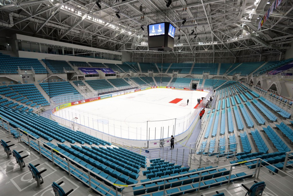Tickets to watch the Para-ice hockey final at the Gangneung Hockey Centre are the most expensive of the sporting action ©Getty Images