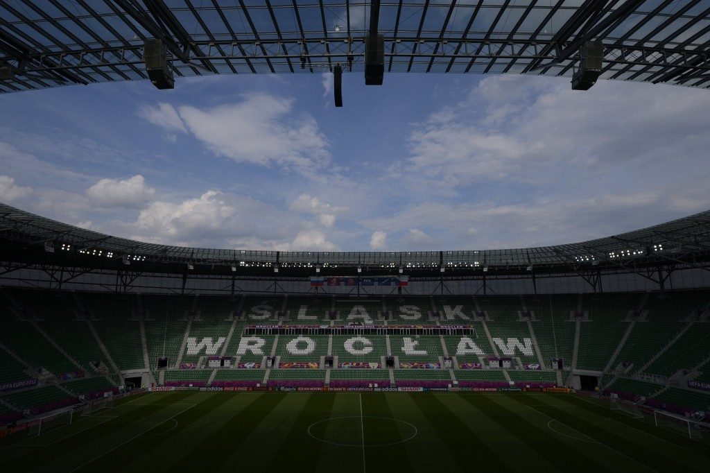 The delegation from the International World Games Association were impressed by the planning for the Opening Ceremony, due to take place at the Wrocław Stadium on July 20 ©Getty Images