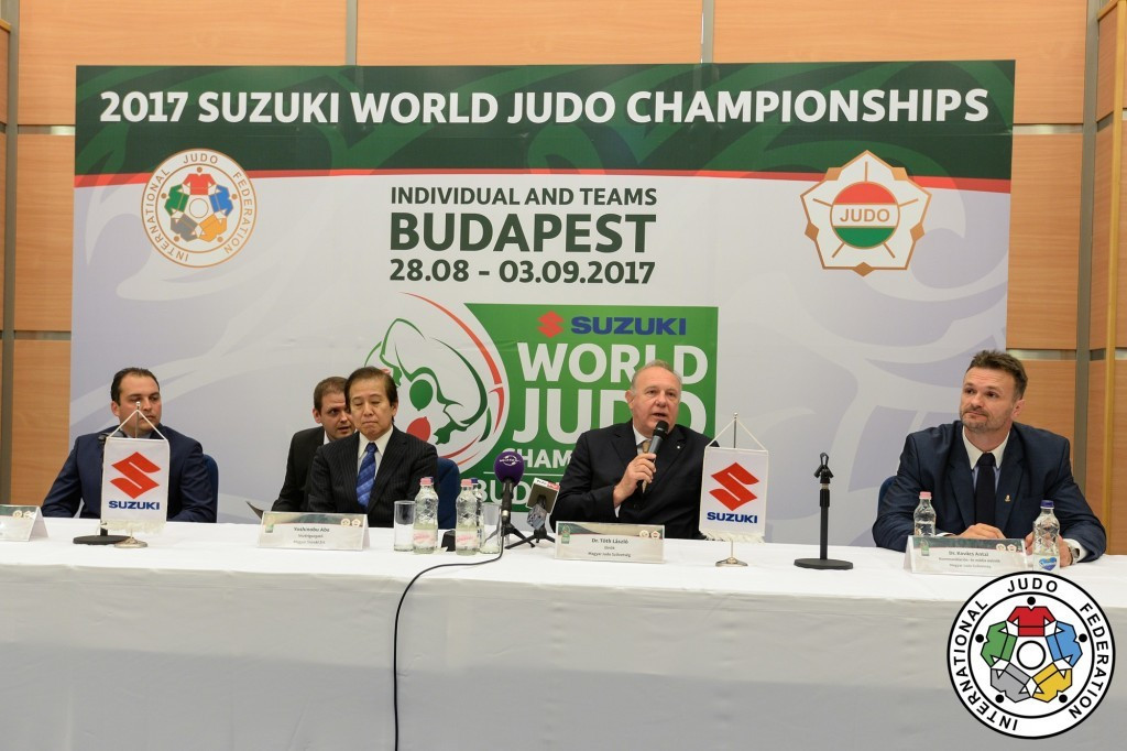 Japanese car company Suzuki has signed on as the title sponsor of this year's IJF World Championships ©IJF