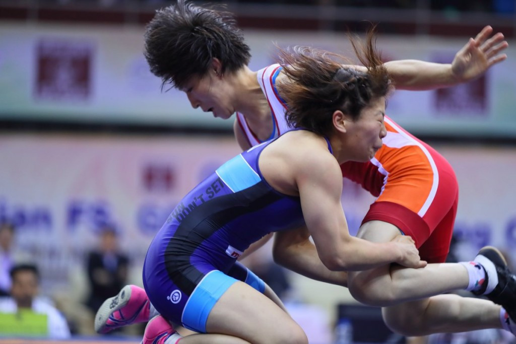 Japan continue domination of UWW women's freestyle world rankings