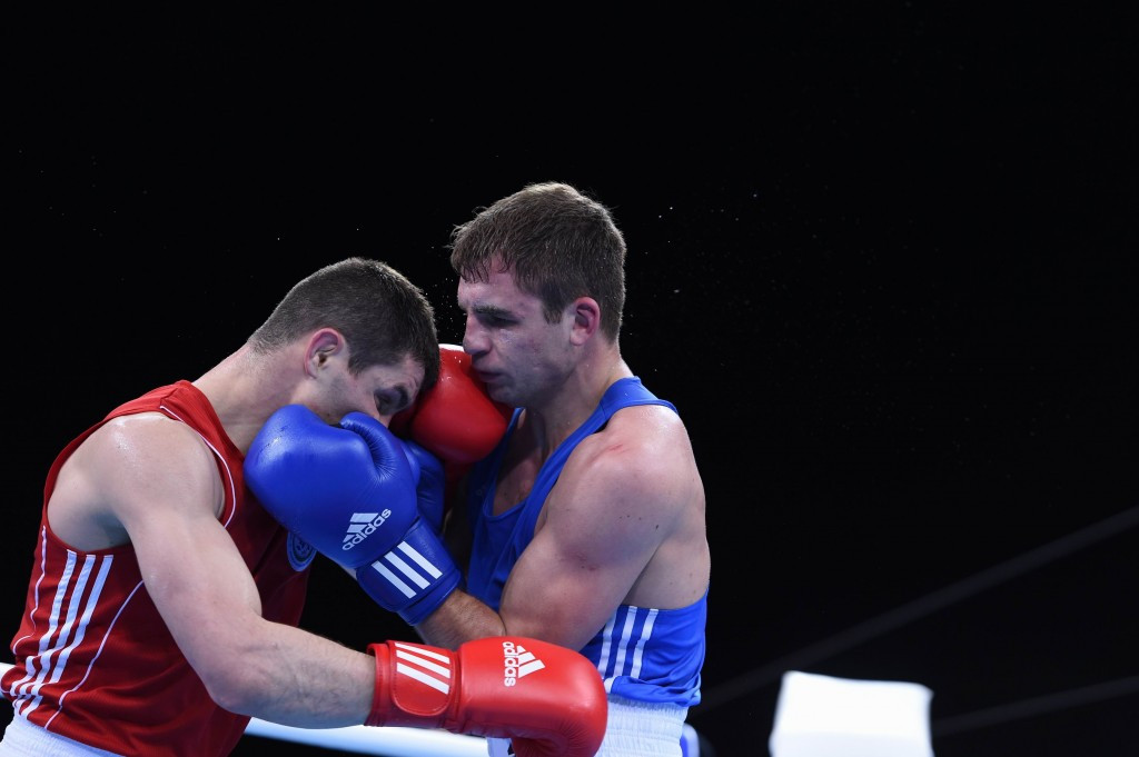 Baku 2015 test event yields more success for home boxers
