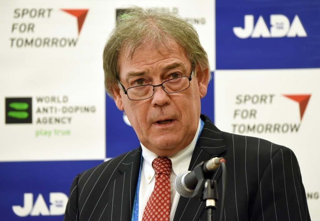 AIU chair David Howman gave his keynote speech at the iNADO AGM ©Getty Images