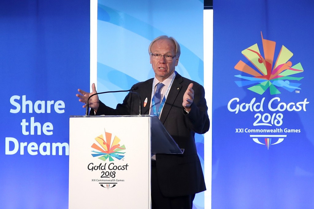 Gold Coast 2018 chairman praised by Commonwealth Games Federation for good progress