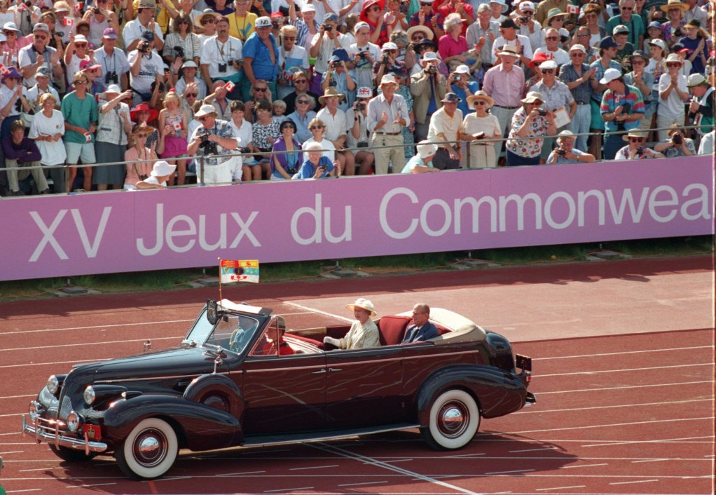 Queen Elizabeth opened the 1994 Commonwealth Games in Victoria, the last time they took place in Canada ©Getty Images