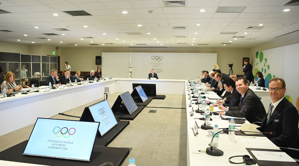 The IOC Executive Board are due to meet tomorrow to approve their 2024 and 2028 proposals ©Getty Images
