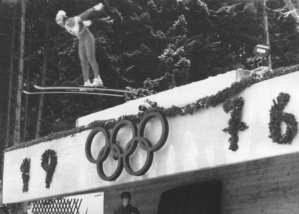 Innsbruck has hosted the Winter Olympic Games twice before, in 1964 and 1976 ©Getty Images