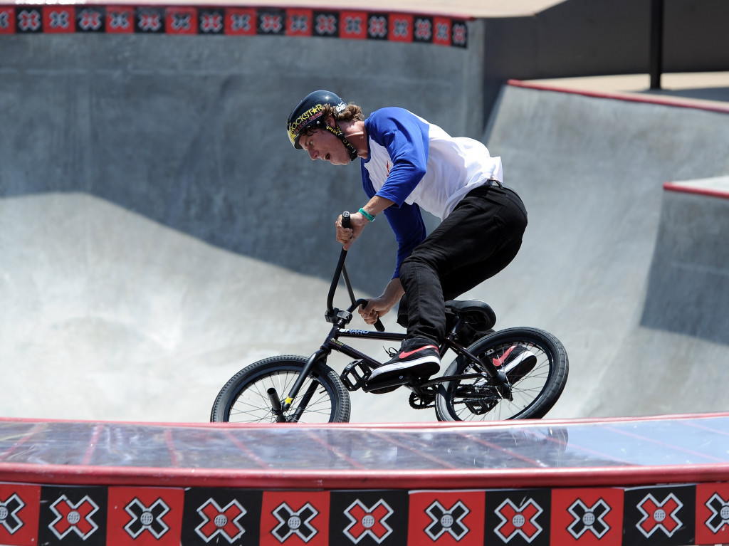 A BMX freestyle park competition taking place at the X Games ©Getty Images