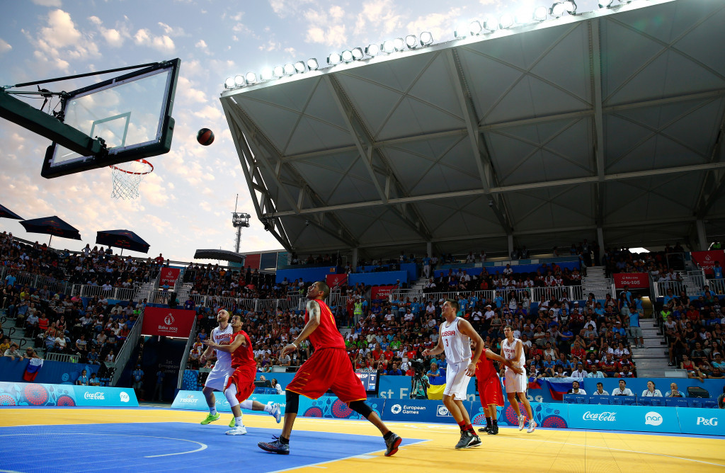 3x3 basketball is a very likely new discipline for Tokyo 2020 ©Getty Images