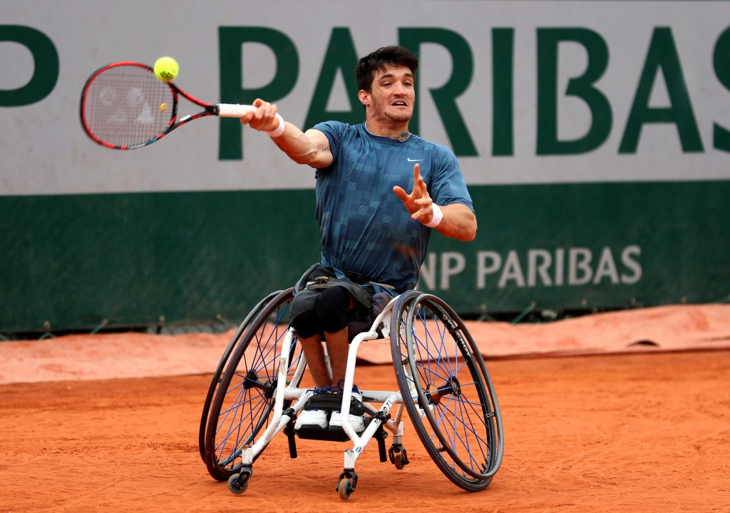 Fernández beats Reid in final repeat as wheelchair tennis begins at French Open