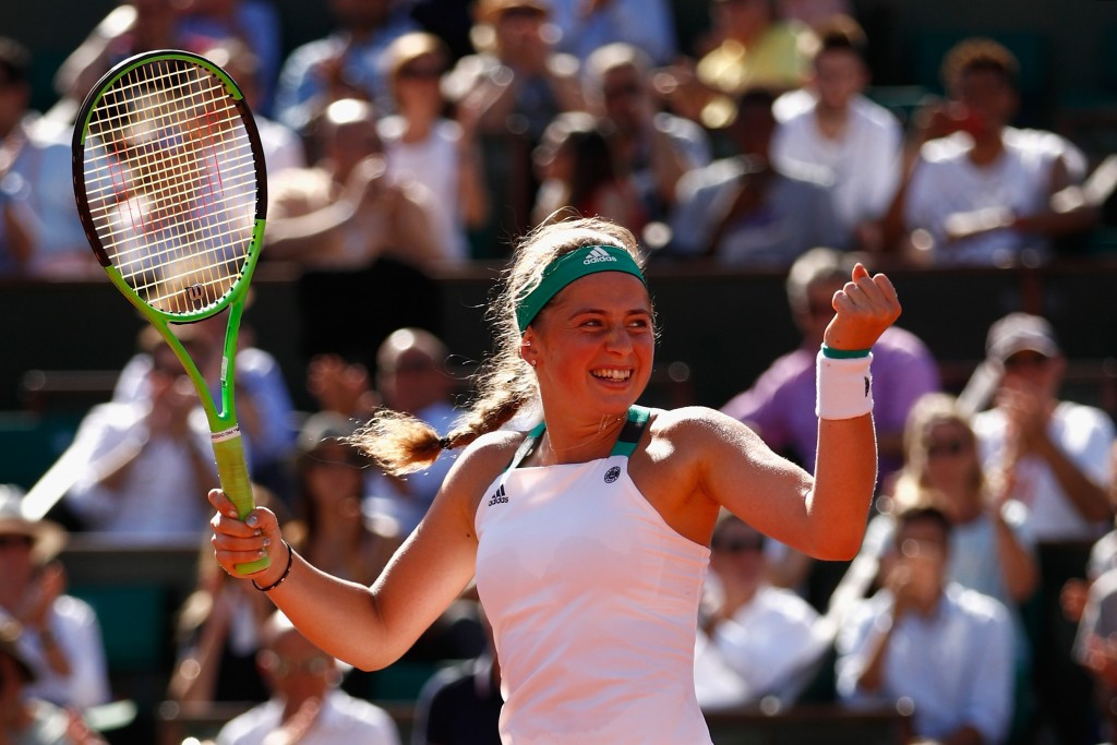 French Open final place is perfect birthday present for Jelena Ostapenko