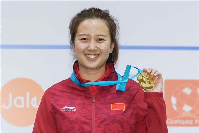 China and Serbia secure rifle shooting gold at ISSF World Cup