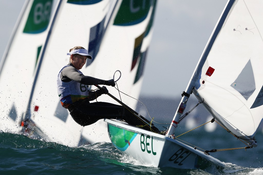 Action begins to heat up as Sailing World Cup Final reaches halfway stage