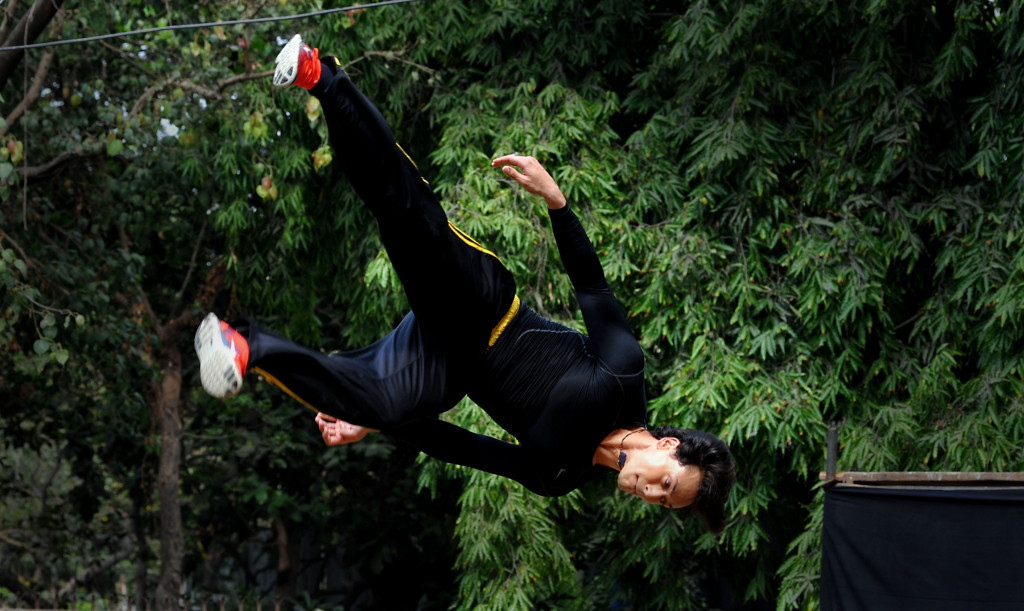 Parkour organisations from around the world have backed the campaign to stop the International Gymnastics Federation trying to gain control of their sport ©Getty Images