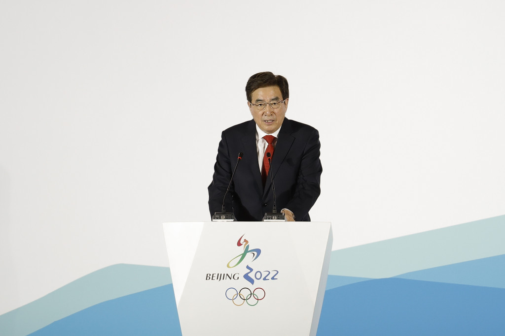 Guo Jinlong is no longer the head of the Beijing 2022 Organising Committee ©Getty Images