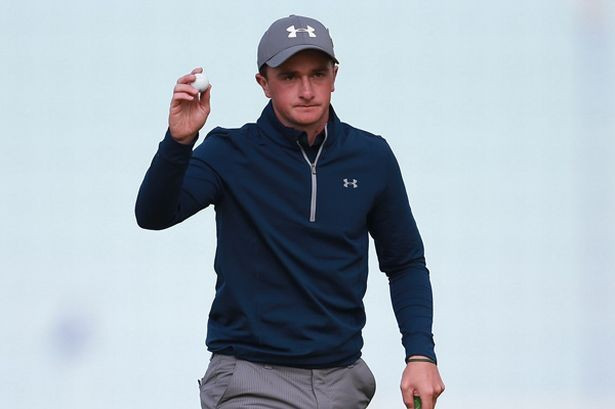 Amateur shares Open lead at St Andrews but Spieth poised to strike for historic third consecutive major victory
