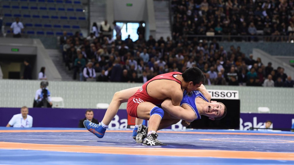 Uzbekistan impress in freestyle competitions as Baku 2015 wrestling test event continues