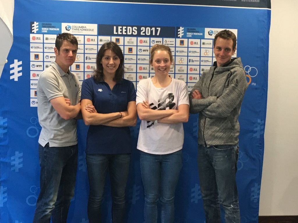 Brownlee brothers prepare for home World Triathlon Series in Leeds