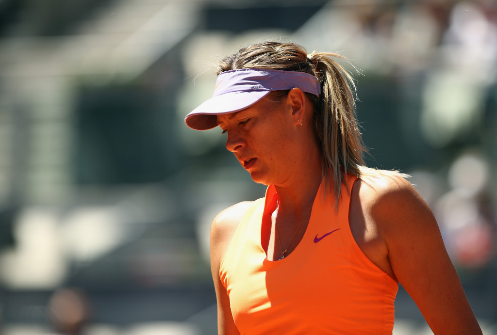 Sharapova set to miss Aegon Classic in Birmingham through injury