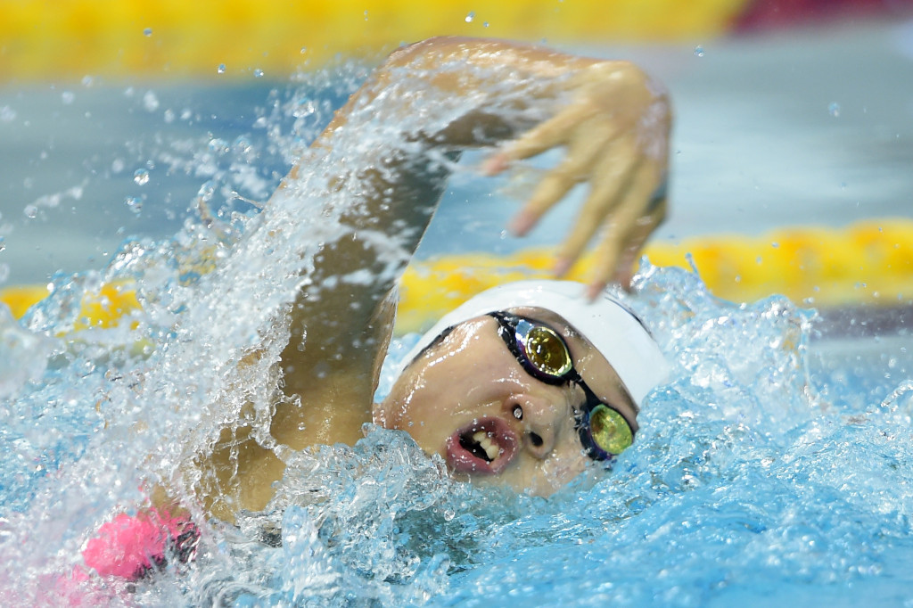 Chinese swimmer Qiu Yuhan has reportedly served a ninth month doping ban ©Getty Images