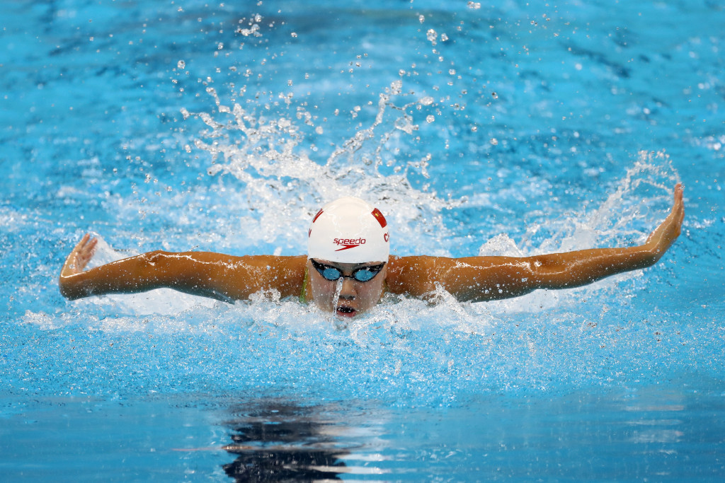Chen Xinyi is one of several Chinese swimmers to be sanctioned after testing positive for hydrochlorothiazide ©Getty Images