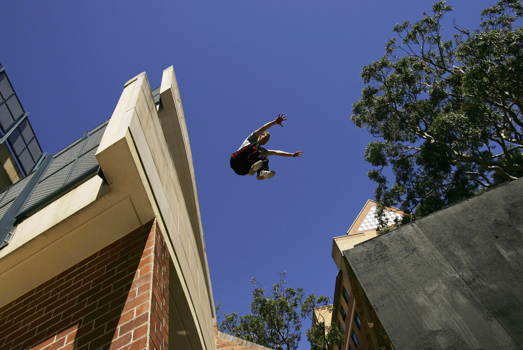 The FIG was unsuccessful at getting parkour onto the Olympic programme for Tokyo 2020 yesterday ©Getty Images