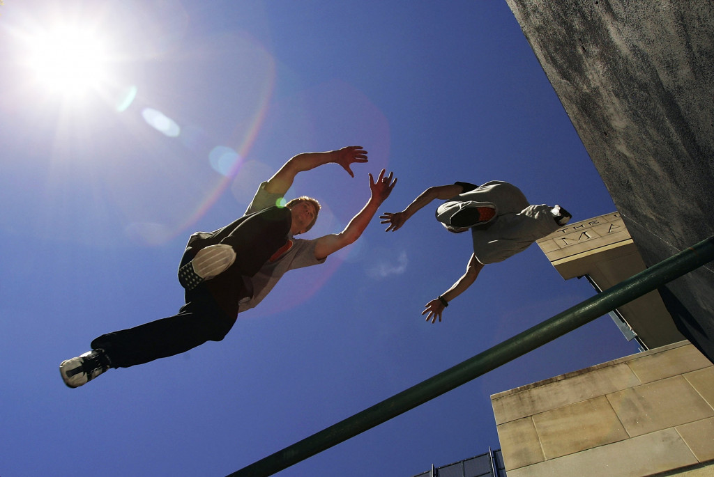 There has been fierce criticism from the parkour community to the FIG's plans ©Getty Images