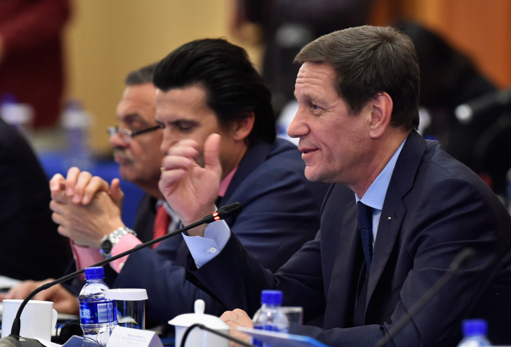 Beijing 2022 Coordination Commission chair Alexander Zhukov did not play a full part in the last visit to the Chinese capital as he left early to meet Vladimir Putin ©Getty Images