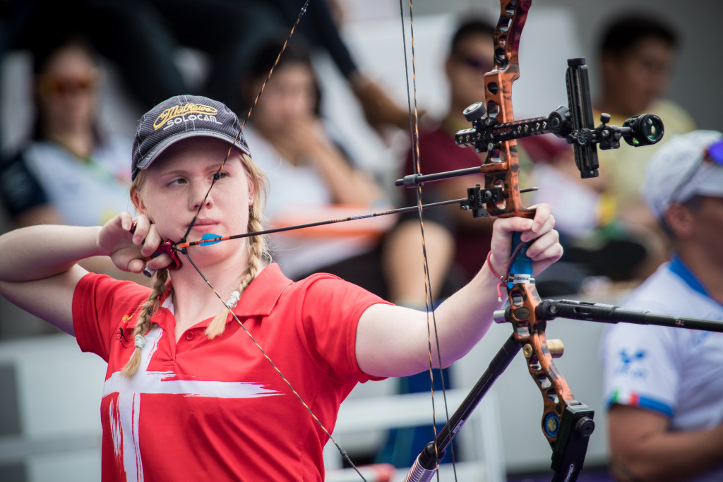 Sonnichsen wins all-Danish final at Archery World Cup in Antalya