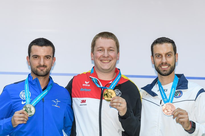 Rio 2016 champion Reitz dominates ISSF World Cup rapid fire pistol contest