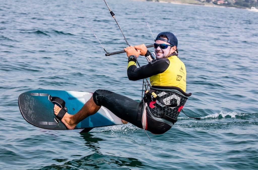 Nico Parlier won kiteboarding gold with ease ©World Sailing
