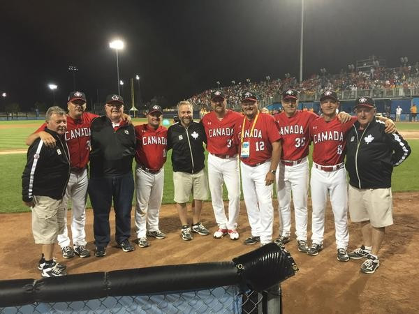 Canadian players and fans seemed to scarcely believed how they had managed to win afterwards ©Baseball Canada