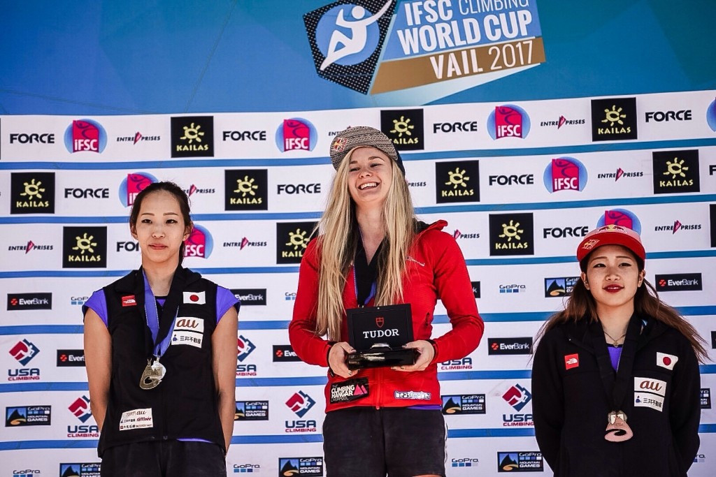 Coxsey extends IFSC Bouldering World Cup lead with victory in Vail